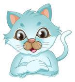 A cute kitten — Stock Vector
