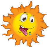 A happy sun — Stock Vector