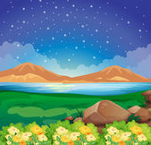 A view of the environment — Stock Vector
