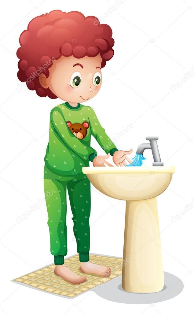 un ni u00f1o lav u00e1ndose las manos archivo im u00e1genes vectoriales washing hands clipart images washing hands clipart for children