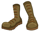 A pair of boots — Stock Vector