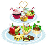Baked goods — Stock Vector