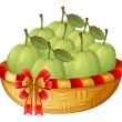 A basket of guavas — Stock Vector #47877313