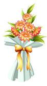 A boquet of fresh flowers — Stock Vector