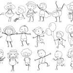 Simple kids doodle — Stock Vector #51088531