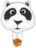 A big panda balloon — Vector de stock