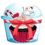 Cupcake — Stock Vector #51352859