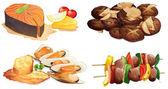 Gıda — Stok Vektör