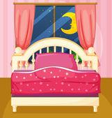 Camera da letto — Vettoriale Stock