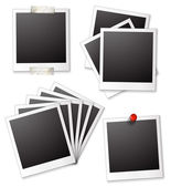 Blank photo frames — Stock Vector