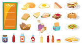 Food — Vector de stock