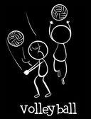 Volley-ball — Vecteur