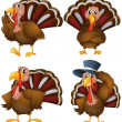 Turkey set — Vector de stock  #51673787
