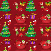 Christmas wrapping — Stock Vector