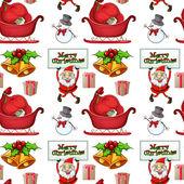 Weihnachten-wrapper — Stockvektor