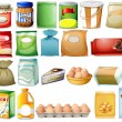 Set of foods — Stock Vector #51680611