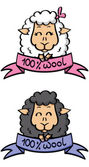 Funny labels — Stock Vector