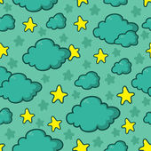 Night sky pattern — Stock Vector