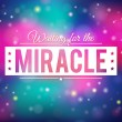 Miracle background — Stock Vector #32763595