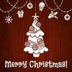 Christmas card. — Stock Vector #32913919