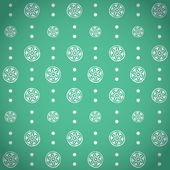 Retro naadloze patroon — Stockvector