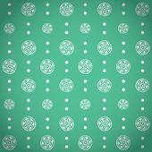 Retro seamless mönster — Stockvektor