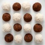 Fondo de caramelo dulce blanco y negro — Foto de Stock