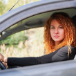 Woman driving car — Stock Photo #13591244
