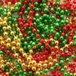 Christmas beads — Stock Photo