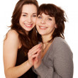 Mother and teenage daughter together. Happy family. — Stock Photo