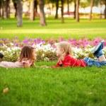 Love concept. Couple of children — Stock Photo #37161661