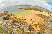 Fisheye irland landsbygden — Stockfoto