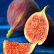 Stock Photo: Ripe fresh Fig