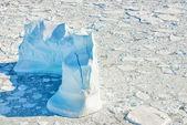 Ledovce v grónsku — Stock fotografie