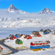 Tasiilaq in winter time — Stock Photo #24193273