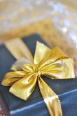 Holiday gift box — Stock Photo
