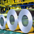 Rolls of steel sheet — Stock Photo #25932575