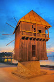 Old mill nessebar — Stock Photo