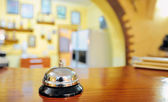 Service bell at the hotel — Stock Photo