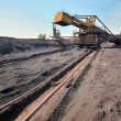 Ore conveyor — Stock Photo