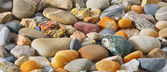 Sea stones background — Stock Photo