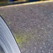 Roll of steel sheet — Stockfoto