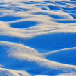 Waves of snow bumps — Foto Stock #36645745