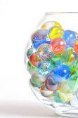 Different glass balls — Stock Photo
