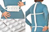 Spine massage belt for hernia pain — Foto Stock
