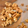 Stock Photo: Walnut kernels