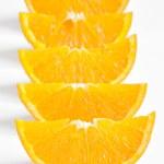 Orange parts isolated — Stock Photo #44613173