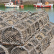 Traps for capture fisheries and seafood — Stock Photo #48621317