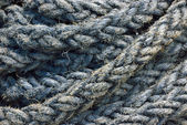 Ship rope background — Stock Photo