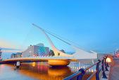 The Samuel Beckett Bridge — Stock Photo